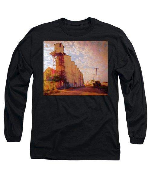 Tampa Docks Long Sleeve T-Shirt by Glenn Gemmell