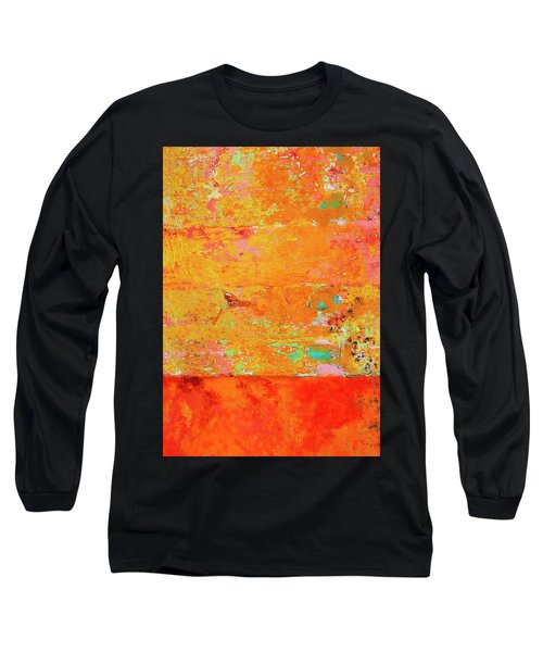 Long Sleeve T-Shirt featuring the photograph Tangerine Dream by Skip Hunt