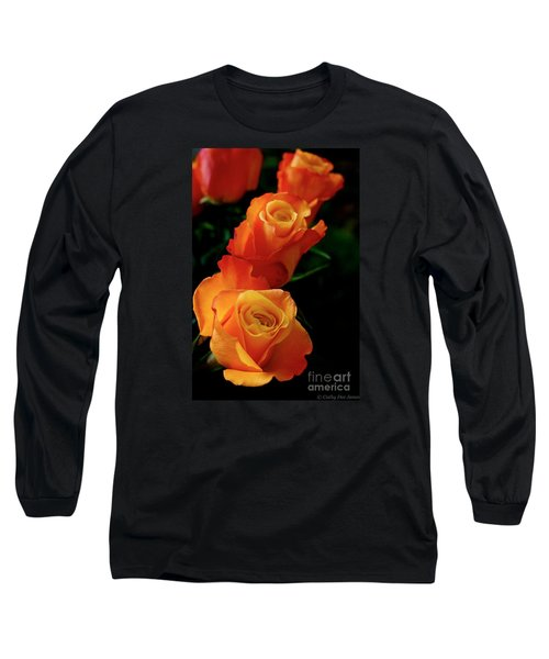 Tango In Three Long Sleeve T-Shirt by Cathy Dee Janes