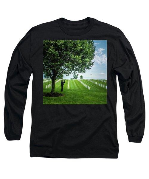 Taps Color Long Sleeve T-Shirt