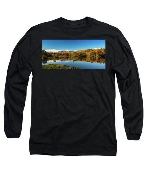 Tarn Hows Long Sleeve T-Shirt by Mike Taylor