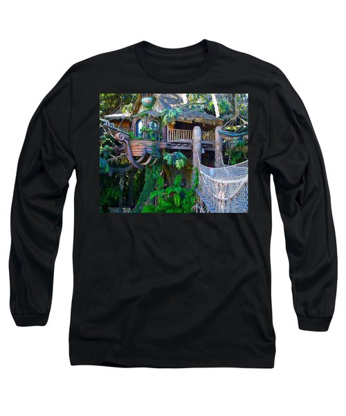 Tarzan Treehouse Long Sleeve T-Shirt