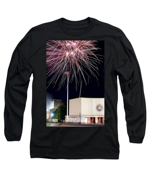 Taste Of Dallas 2015 Fireworks Long Sleeve T-Shirt
