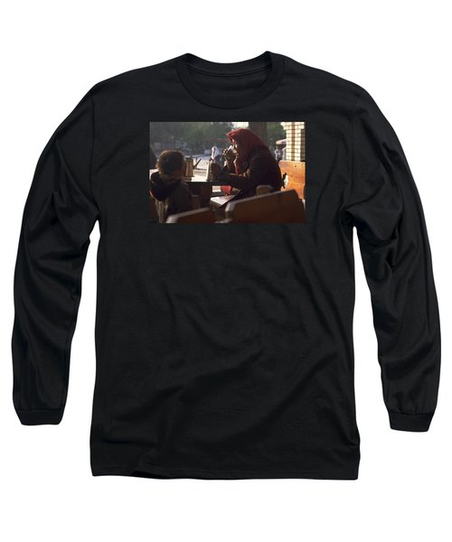 Long Sleeve T-Shirt featuring the photograph Tea In Tashkent by Travel Pics