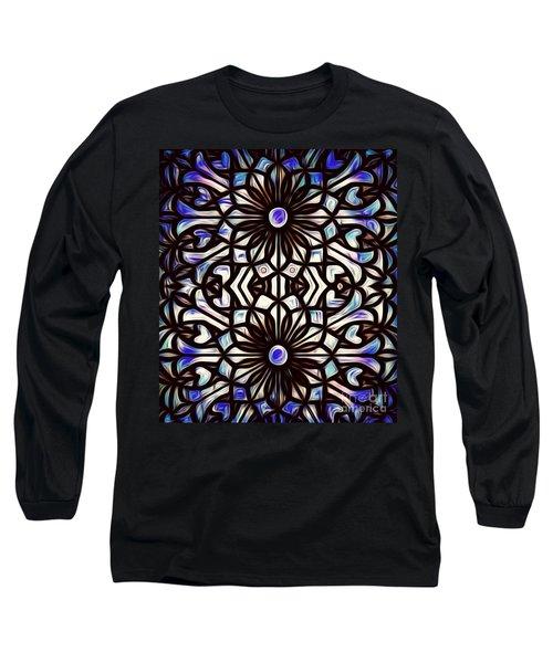 Teal Purple Vibe Long Sleeve T-Shirt