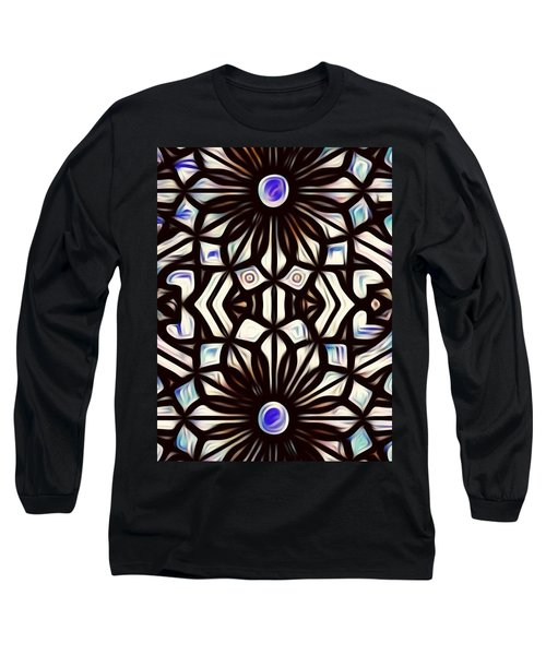 Teal Purple Vibe Long Sleeve T-Shirt