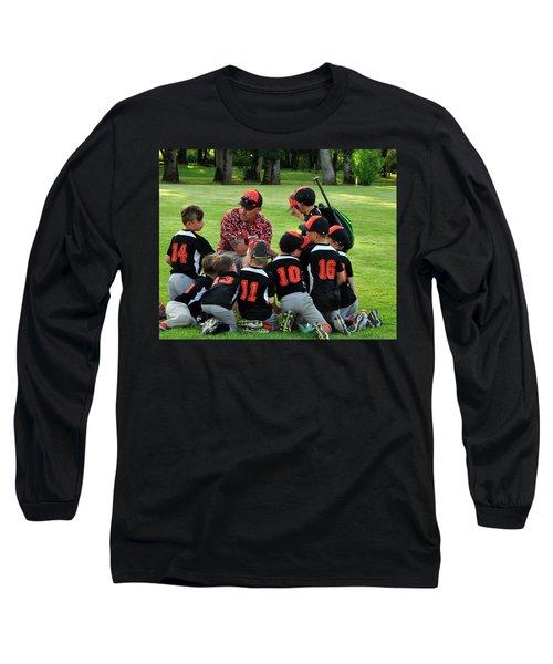 Team Meeting 9736 Long Sleeve T-Shirt