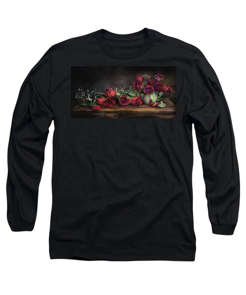 Teapot Roses Long Sleeve T-Shirt