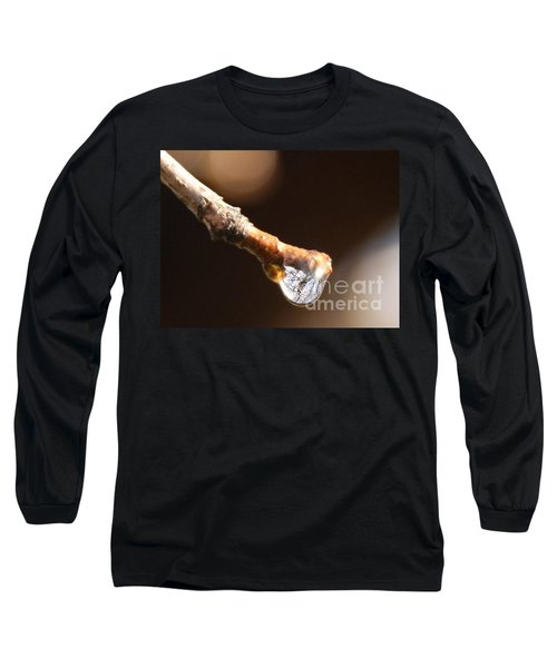 Long Sleeve T-Shirt featuring the photograph Tearfulness by Jolanta Anna Karolska