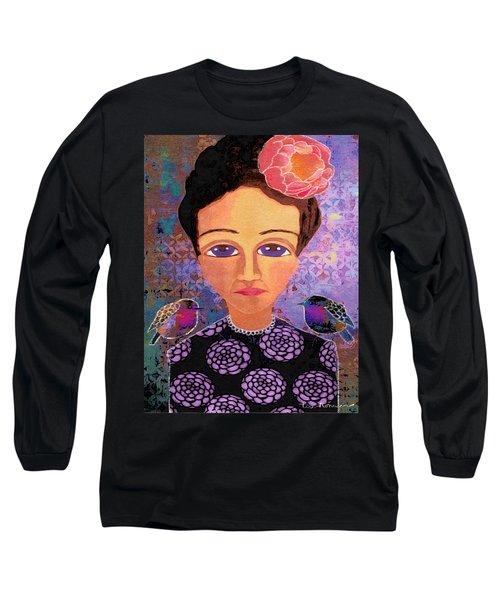 Telling Secrets Long Sleeve T-Shirt by Lisa Noneman
