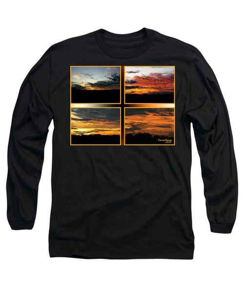 Tennessee Sunset Long Sleeve T-Shirt by EricaMaxine  Price