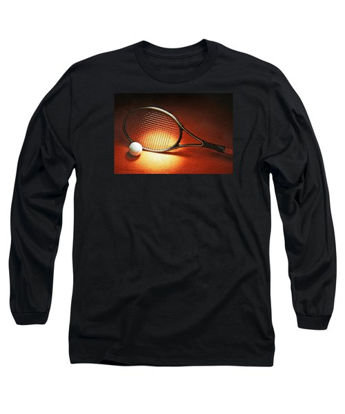 Tennis Racket Long Sleeve T-Shirt
