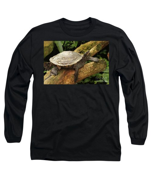 Tess The Map Turtle #3 Long Sleeve T-Shirt