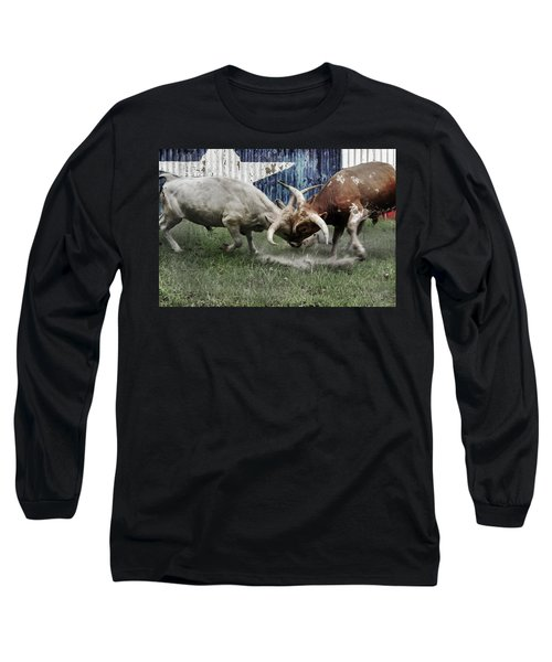 Texas Bull Fight  Long Sleeve T-Shirt