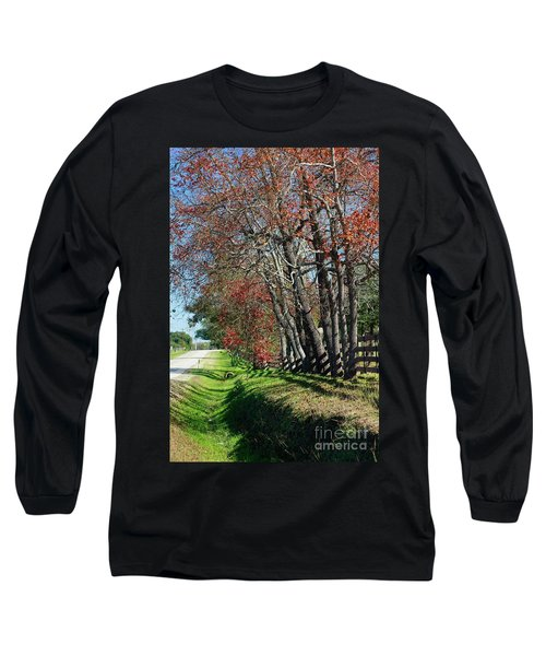 Texas Fall Long Sleeve T-Shirt