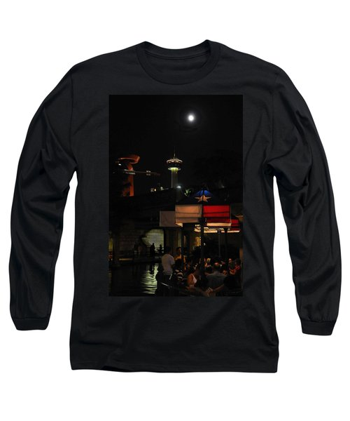 Texas Moon Long Sleeve T-Shirt