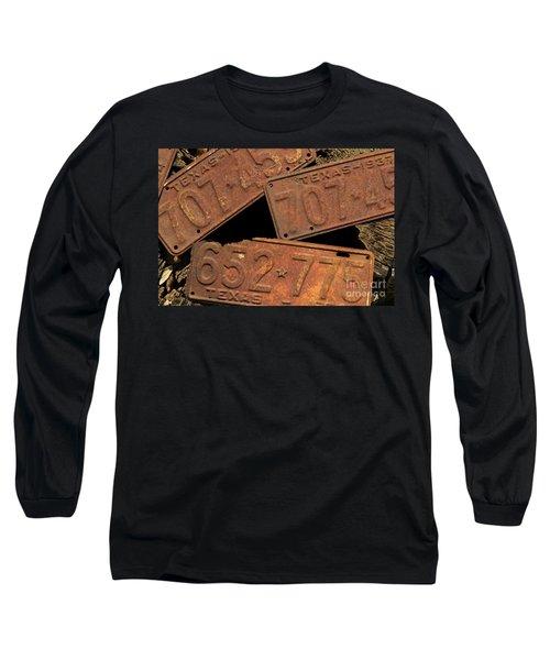 Texas Plates Long Sleeve T-Shirt