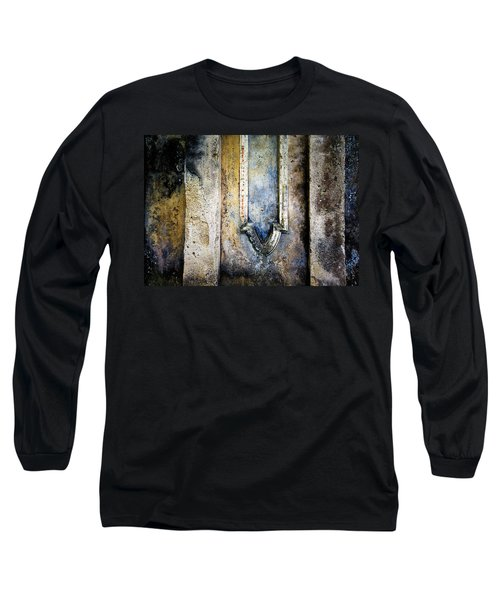 Long Sleeve T-Shirt featuring the photograph Textured Wall by Marion McCristall