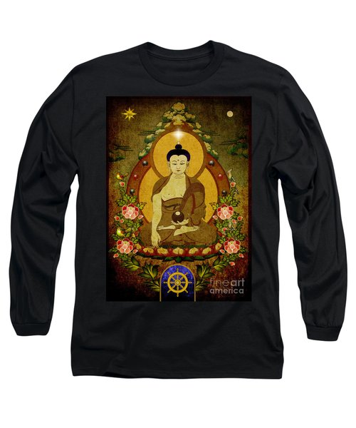 Thangka Painting Long Sleeve T-Shirt