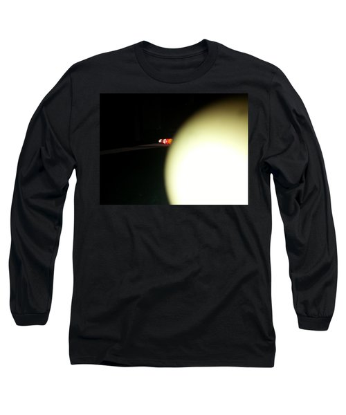 Long Sleeve T-Shirt featuring the photograph That's No Moon by Robert Knight