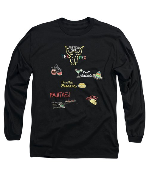 The American Grill Long Sleeve T-Shirt by Mark Rogan