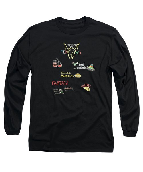 The American Grill Long Sleeve T-Shirt