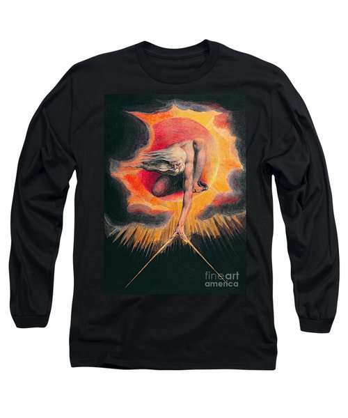 The Ancient Of Days Long Sleeve T-Shirt
