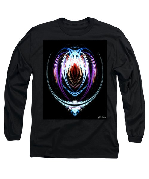 The Angel Of Art Long Sleeve T-Shirt