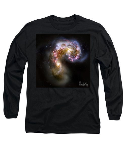 The Antennae Galaxies - Ngc 4038-4039 Long Sleeve T-Shirt