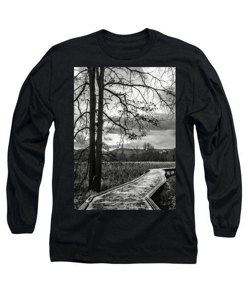 Long Sleeve T-Shirt featuring the photograph The Appalachian Trail by Eduard Moldoveanu
