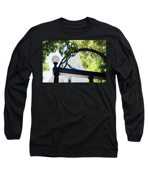 Long Sleeve T-Shirt featuring the photograph The Arch by Parker Cunningham