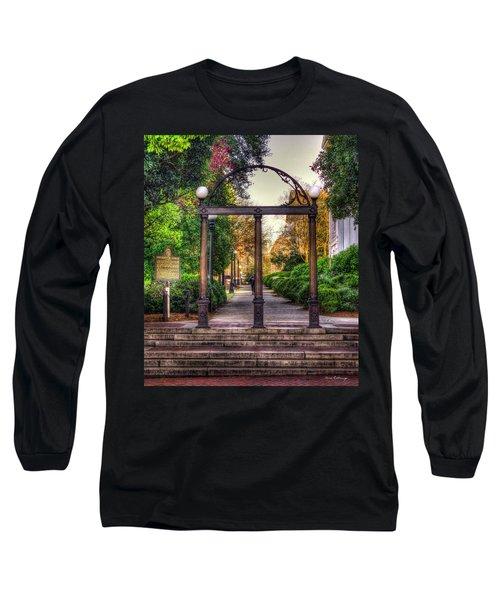 The Arch University Of Georgia Arch Art Long Sleeve T-Shirt