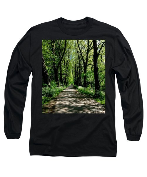 The Avenue Of Limes At Mill Park 3 Long Sleeve T-Shirt