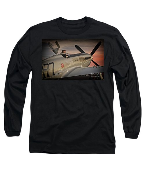 The Aviator Jimmy Leeward Redux For Tees Long Sleeve T-Shirt