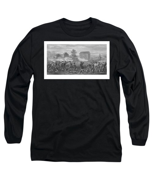The Battle Of Lexington Long Sleeve T-Shirt