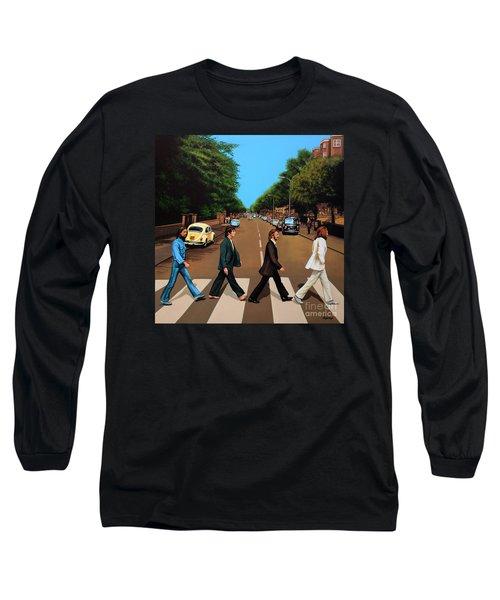 The Beatles Abbey Road Long Sleeve T-Shirt
