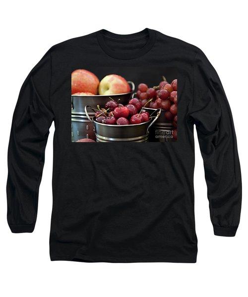 The Beauty Of Fresh Fruit Long Sleeve T-Shirt