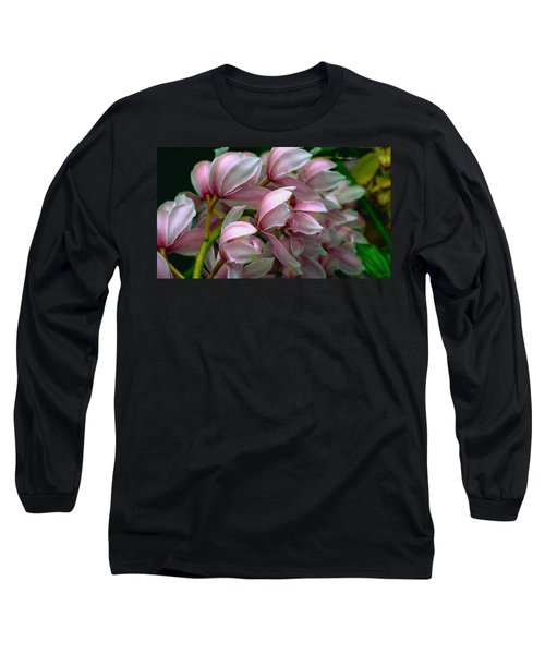 The Beauty Of Orchids Long Sleeve T-Shirt
