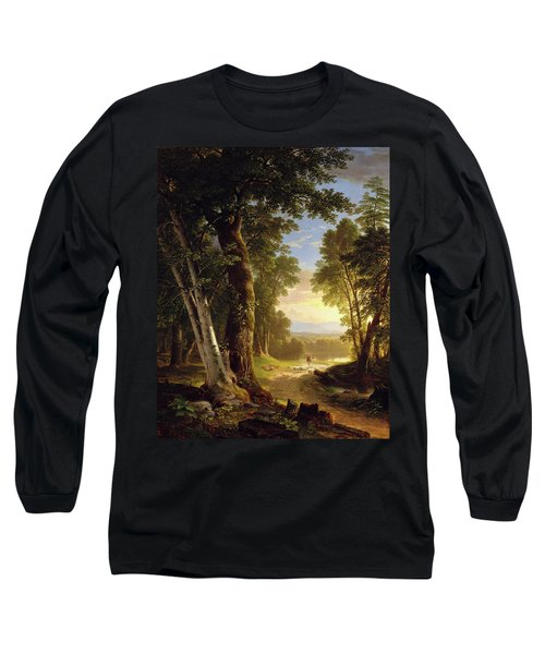 The Beeches By Asher Brown Durand Long Sleeve T-Shirt