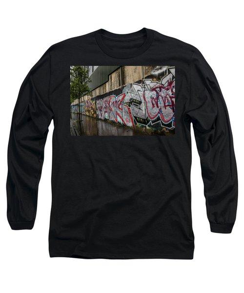 The Belfast Peace Wall Long Sleeve T-Shirt