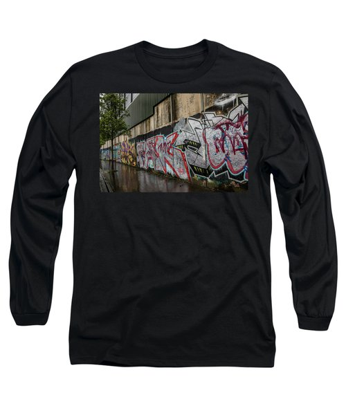 The Belfast Peace Wall Long Sleeve T-Shirt