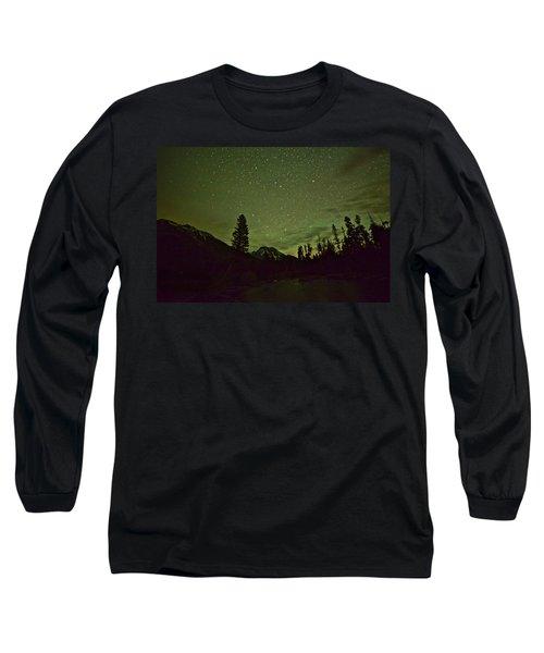 The Big Dipper Over Mount Moran Long Sleeve T-Shirt