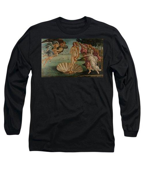 The Birth Of Venus, Original Long Sleeve T-Shirt