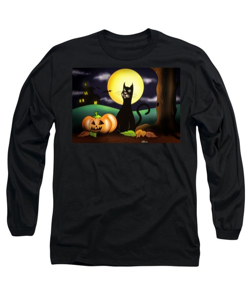 The Black Cat Long Sleeve T-Shirt
