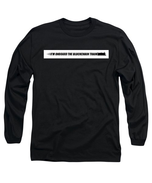 The Blockchain Train Long Sleeve T-Shirt