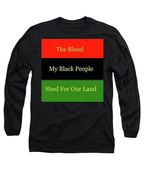 The Blood Long Sleeve T-Shirt