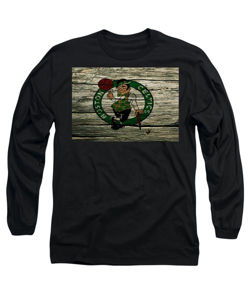 The Boston Celtics 2w Long Sleeve T-Shirt by Brian Reaves