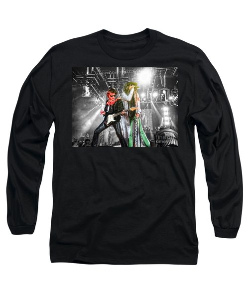 Long Sleeve T-Shirt featuring the photograph The Boys by Traci Cottingham