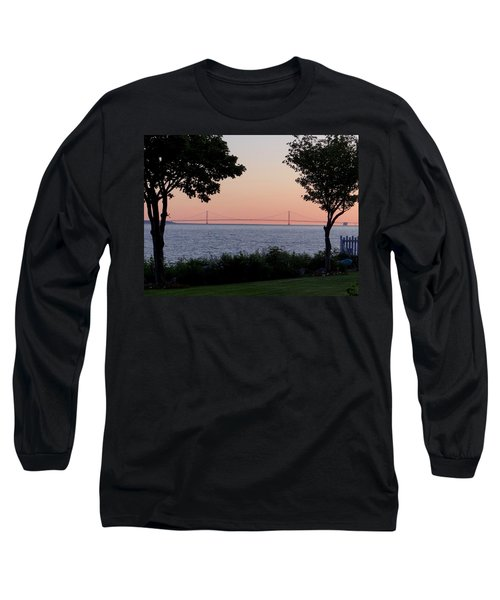 The Bridge From The Island Long Sleeve T-Shirt