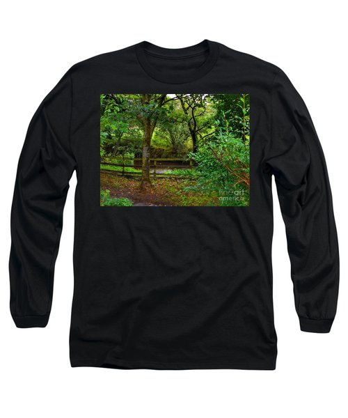 The Brook At Gibbon's Bridge Long Sleeve T-Shirt